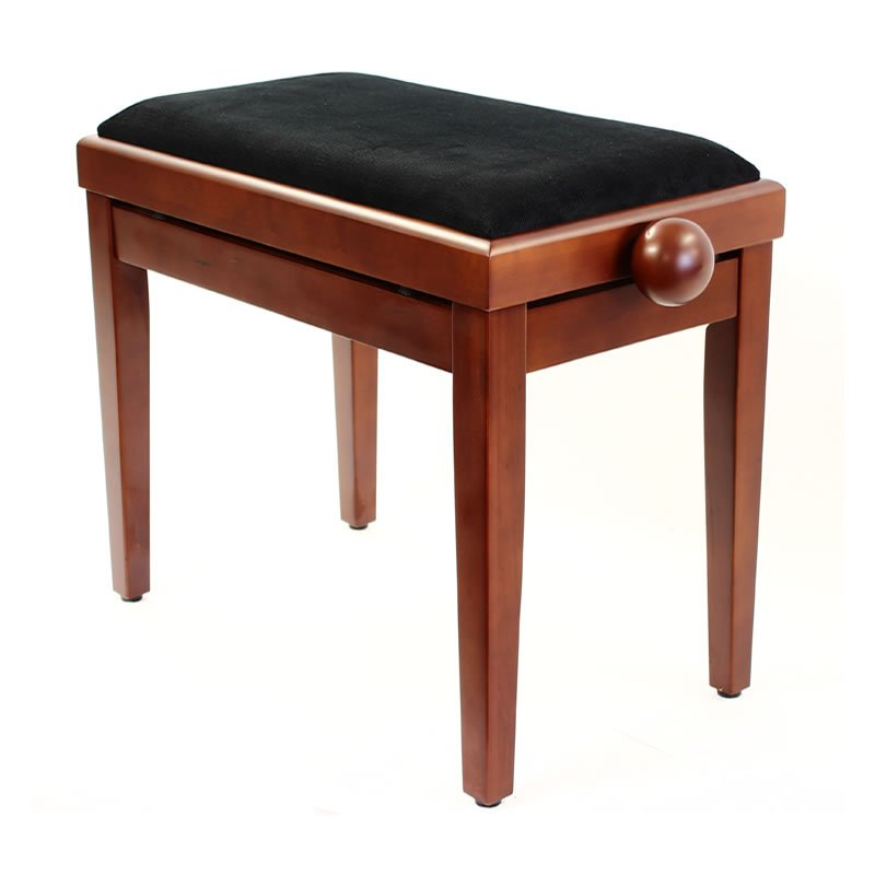"""LEGATO"" Adjustable Piano Stool - Satin Cherry"