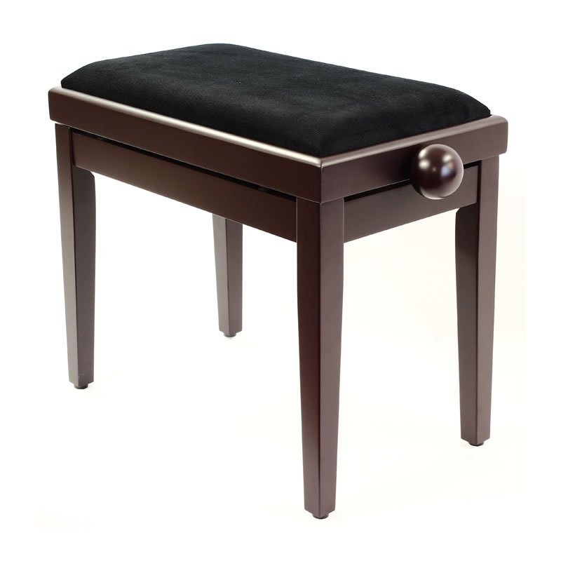 """LEGATO"" Adjustable Piano Stool - Satin Rosewood"