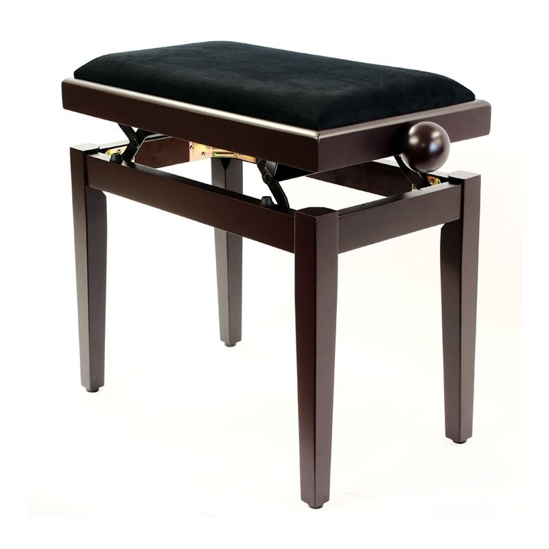 """LEGATO"" Adjustable Piano Stool - Satin Rosewood"