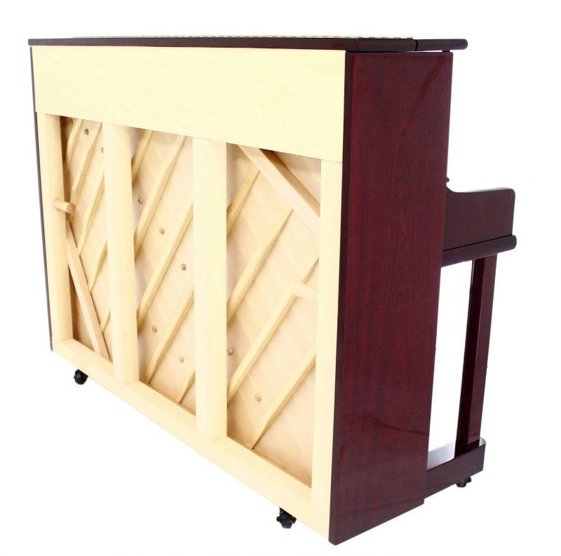 "Steinhoven SU112 Upright Piano, Polished Mahogany (112cm, 44"") - FREE DELIVERY"