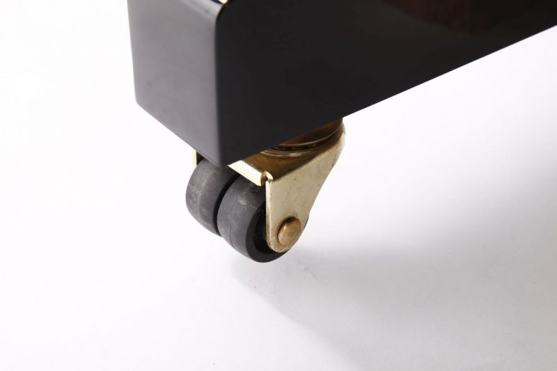 "Steinhoven SU113 Upright Piano, Polished Ebony (113cm, 44.5"") - FREE DELIVERY"