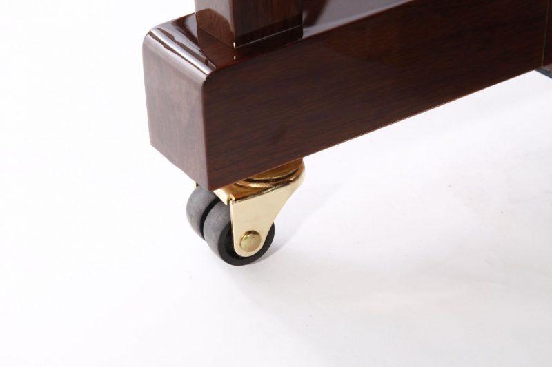 "Steinhoven SU113 Upright Piano, Polished Walnut (113cm, 44.5"") - FREE DELIVERY"